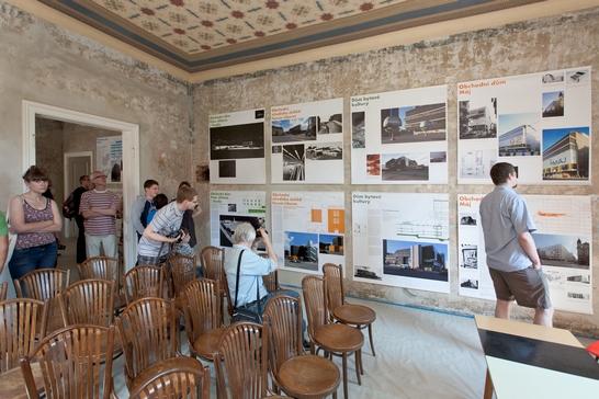 Galerie a přednáškový sál
