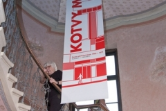 Vstupní banner na výstavu