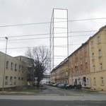 Hmotová vizualizace do ulice Šantovy