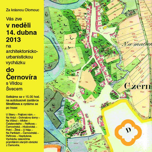 Architektonicko-urbanistická vycházka do Černovíra