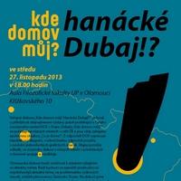 Veřejná diskuze: hanácké Dubaj!?