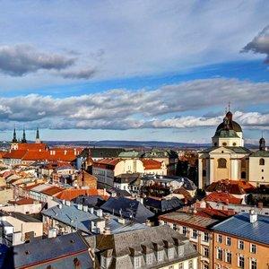Leoš Mlčák: Panorama Olomouce