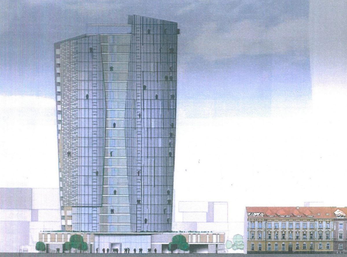 Šantovka Tower usiluje o další výjimku