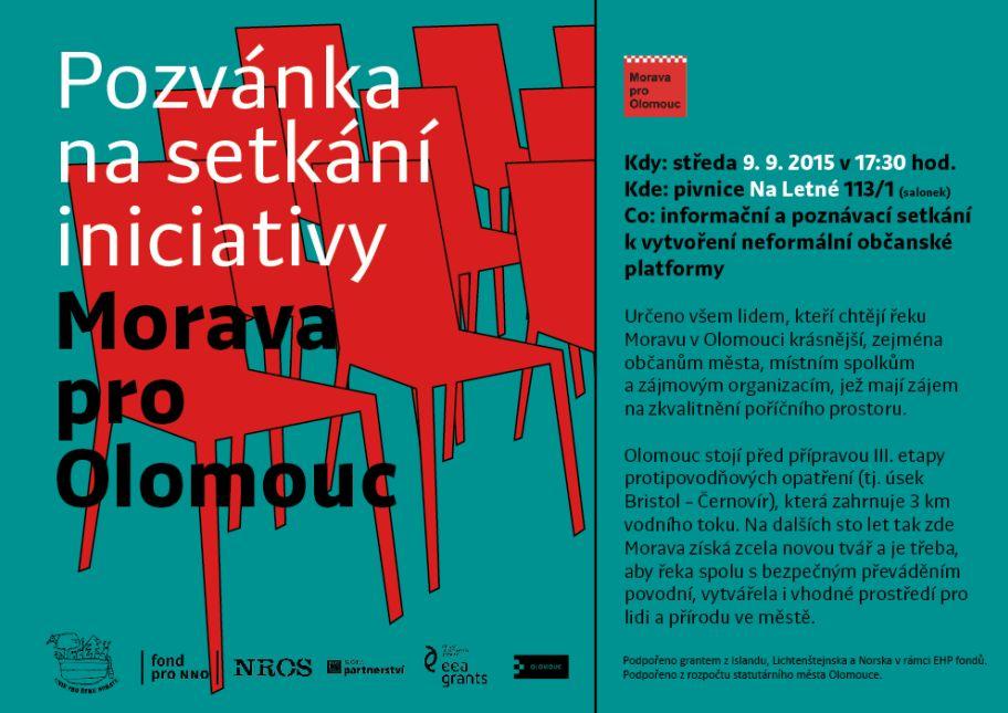 Setkání iniciativy Morava pro Olomouc 9. 9. 2015