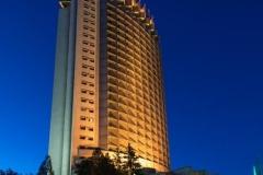Hotel Kazachstán v Almaty. Snímek z webových stránek hotelu Kazachstán