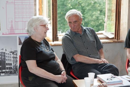Růžena Žertová a Miroslav Masák