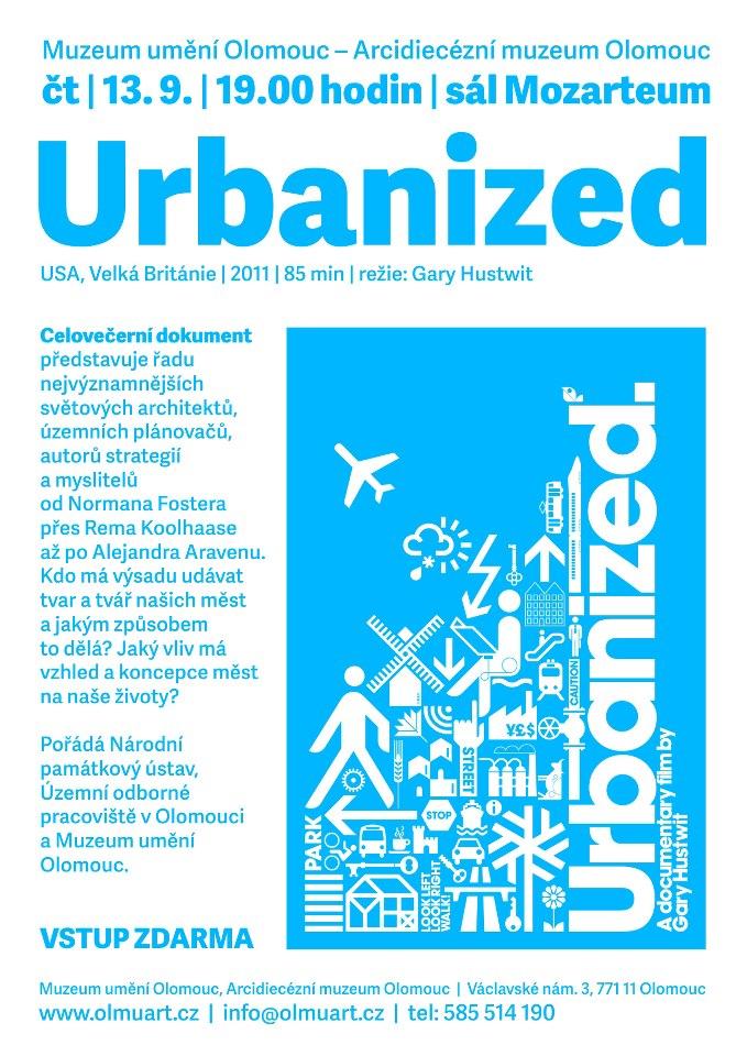 Promítání celovečerního dokumentu Urbanized
