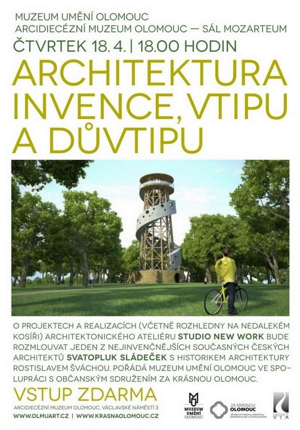 Svatopluk Sládeček: Architektura invence, vtipu a důvtipu