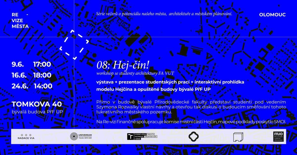 Re-vize Olomouc 08: Hej-čin! / trienále SEFO